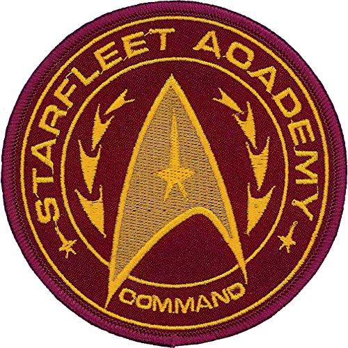 Ata Boy Star Trek Starfleet Academy Befehl Insignia 3' Vollfarbe Eisen-auf Flecken