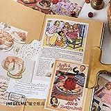 BLOUR 20 Set/Lote blocs de Notas Notas Adhesivas Temperatura del Libro Viejo Diario Basura Pegatinas de álbum de Recortes Oficina papelería Escolar