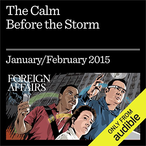 The Calm Before the Storm audiobook cover art