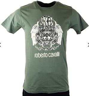 Men's Crewneck Graphic Cotton T-Shirt