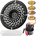 Air Fryer Replacement Grill Pan For Power Gowise 2QT Air Fryers, Crisper Pan, Air Fryer Accessories, Non-Stick Air Fryer Pan, Dishwasher Safe(Gift: 20air fryer filter papers)