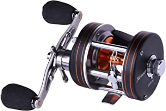 Goture Round Baitcasting Reel Xceed 10+1BB Lightweight Fishing Reel, 5.3:1 Reinforced Metal Body Conventional Saltwater Trolling Reels - Max Drag 18LB