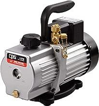 CPS Pro Set VP6S Premium Series 6 CFM Single-Stage Vacuum Pump, Dual Voltage with Gas Ballast Valve, 115/230V