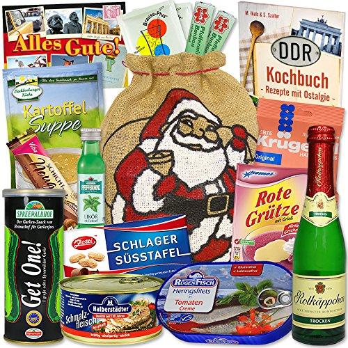 Weihnachtsbeutel mit Spezialitäten aus dem Osten + DDR Waren und Ostprodukte