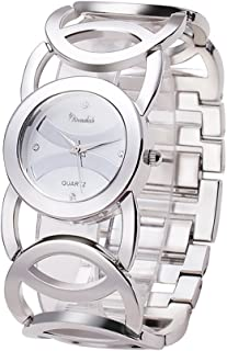 Novadab Immortal Love Accent Loop Bracelet Watch, Wrist Watches for Ladies