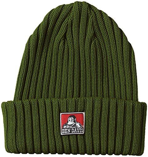 [ベンデイビス] ニット帽 BDW-9500 メンズ カーキ 日本 FREE-(日本サイズM相当)
