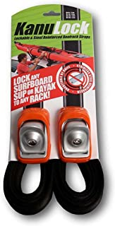 Kanulock Lockable Reinforced Stainless Steel Tie Down Straps 11 Foot