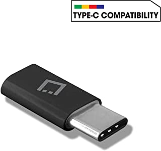 Cellet USB C to Micro USB Adapter Data Sync and Charge Compatible with Samsung Note 10 9 8 Galaxy S10 M20 S9 S8 LG V50 V40...
