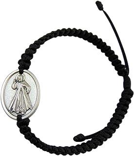 JWG Industries Divine Mercy Religious Medal Jewelry Bracelet