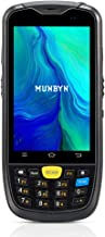 Android Handheld Mobile Terminal MUNBYN with 1D Zebra Laser Scanner, NFC Reader, Camera, Touch Screen, Numeric Keypad Support Wireless 4G WiFi BT GPS for Inventory Shipping Warehouse Management System