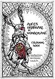 Alice's Nightmare in Wonderland Colouring Book