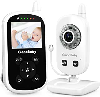 Video Baby Monitor with Camera and Audio - Auto Night Vision,Two-Way Talk, Temperature Monitor, VOX Mode, Lullabies, 960ft...
