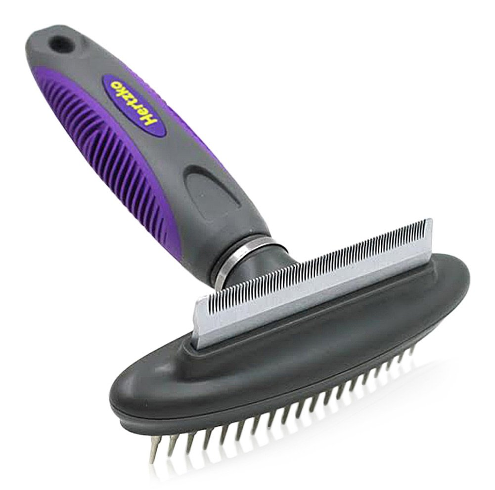 Dog Cat Comb and Deshedding Tool By 1 2 in Hertzko Ranking TOP2 Gro Great half -
