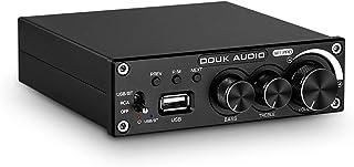 Douk Audio M1 Pro Hi-Fi 320W Bluetooth 5.0 Power Amplifier Stereo Subwoofer Amp USB Music Player