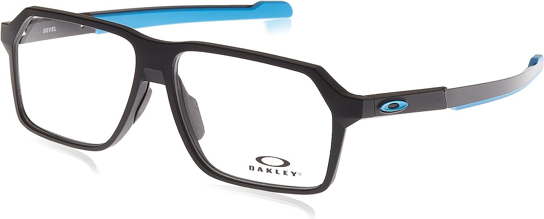 Oakley Men's Ox8161 Bevel Prescription Max 50% OFF Eyeglass Ranking TOP2 Fram Rectangular