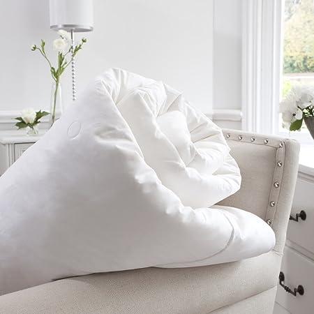 Jasmine Silk 100% mûrier Soie rempli Couette Naturelle de Duvet (200x200cm) Toute la Saison (600gm²) Anti Mites + Anti Moustiques + Anti Punaises de Lit