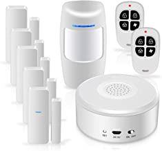 Smart Security System WiFi Alarm System Kit Wireless with APP Push and Calling Alarms DIY..