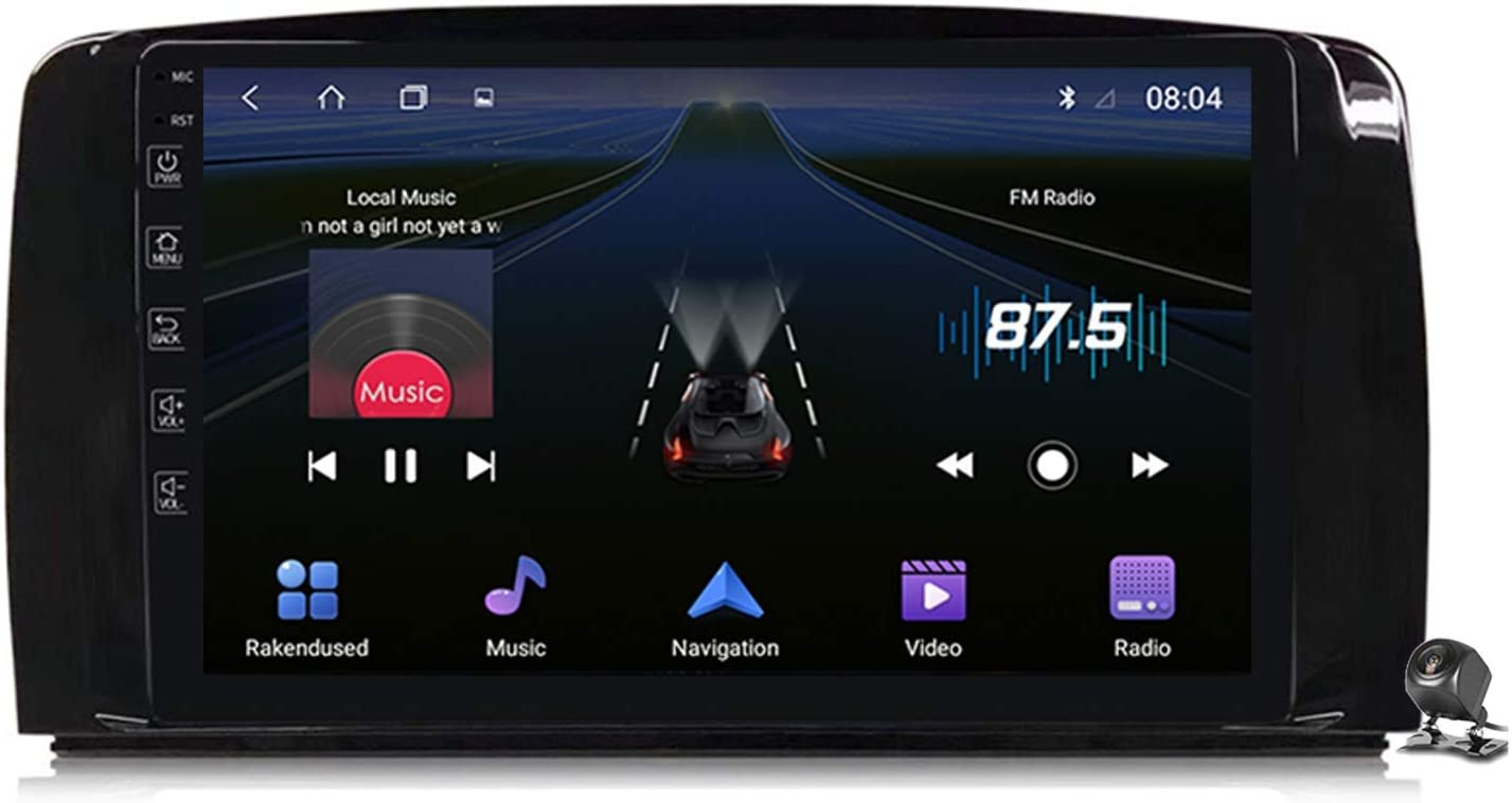 Car Houston Mall Stereo Android 9.0 Radio Elegant for R Benz Mercedes R300 W251 Class
