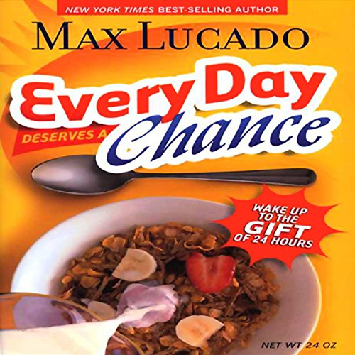 Every Day Deserves a Chance audiobook cover art