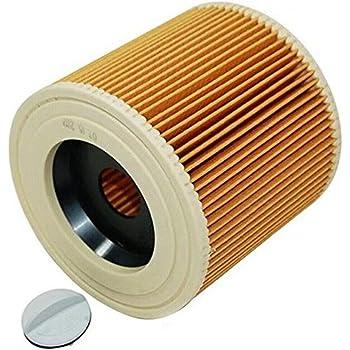 NeedSpares - Cartucho de Filtro de Repuesto para aspiradora Karcher WD2 WD3 WD3P en húmedo y seco: Amazon.es: Hogar