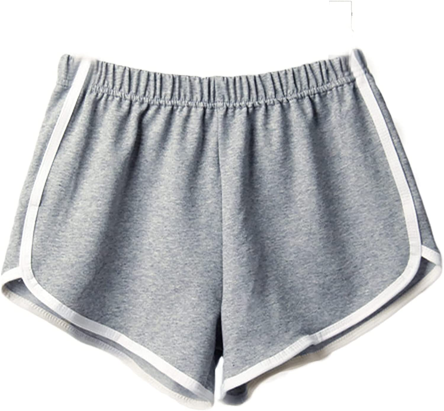 COMVALUE Womens Shorts for Summer, Women's Summer Beach Shorts Casual Comfy Pajama Shorts with Drawstring with Pockets