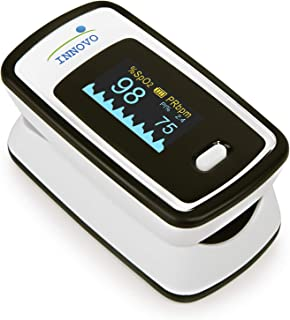 Innovo Deluxe iP900AP Fingertip Pulse Oximeter with Plethysmograph and Perfusion Index..