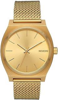 Nixon Women's Time Teller Stainless Steel Mesh Bracelet