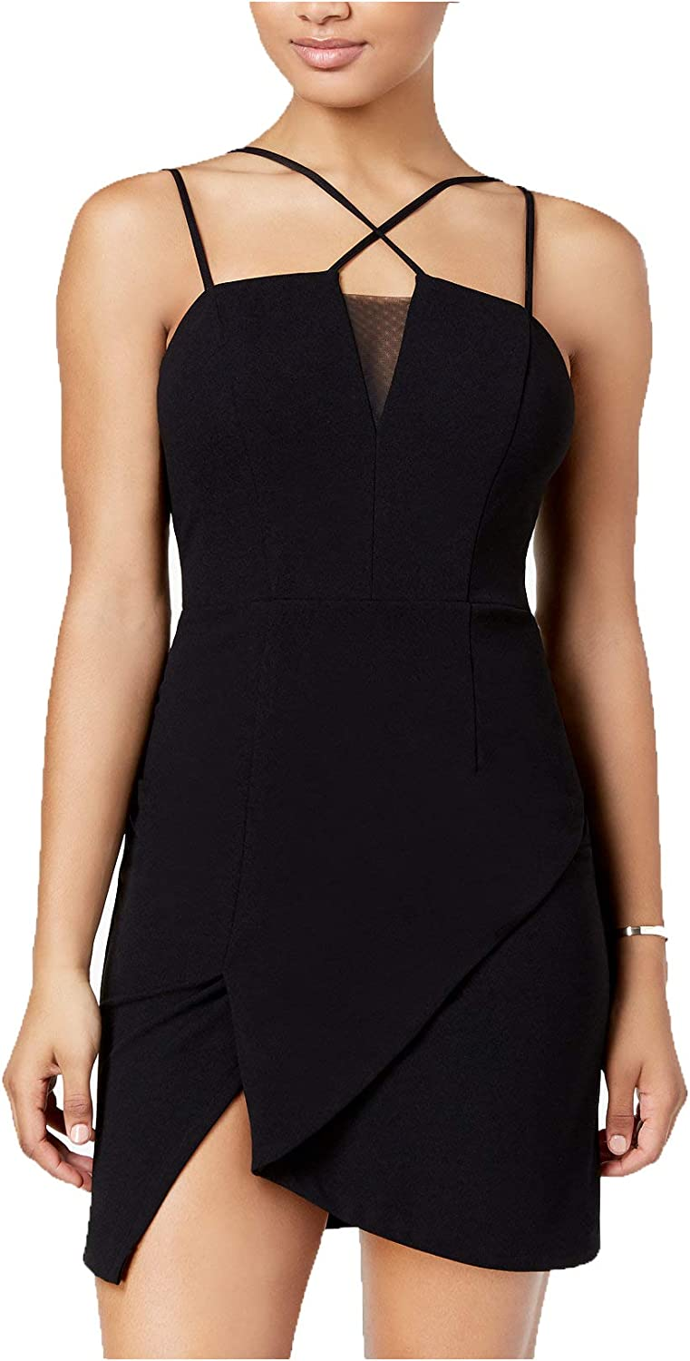 CityStudio Junior's CrisscrossStrap Bodycon Dress