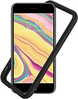 RhinoShield(ライノシールド) iPhone SE (第二世代) / 8 / 7 | CrashGuard NX バンパーケース - 3.5mの落下衝撃からも保護 衝撃吸収 スリム設計 耐衝撃保護カバー 薄型軽量 マット背面を覆わない...