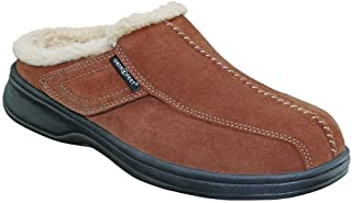 Proven Plantar Fasciitis Pain Relief Arch Support Orthopedic Women's Leather Slippers Asheville