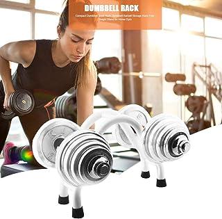 Calmson Dumbbell Rack, Compact Dumbbell Steel Rack Dumbbell Barbell Storage Rack, Free Weight Stand for Household Dumbbell Office