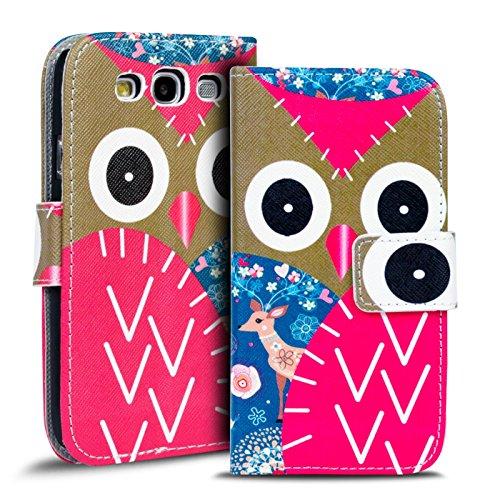 Verco Custodia a Libro Cover per Il Samsung Galaxy S3 Book Cover Flip Caso Wallet Case per Galaxy S3 / S3 Neo