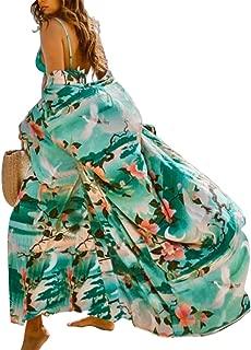 Women Cover Up Cardigan Casual Bikini Tassel Swimsuit Chiffon/Rayon Bathingsuit Beach Tunic Dress