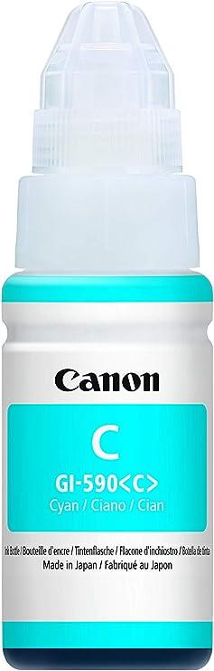 Canon Gi490bk Passend Für Pixma G1400 Tinte Schwarz 0663c001 6000 Seiten 135ml Bürobedarf Schreibwaren