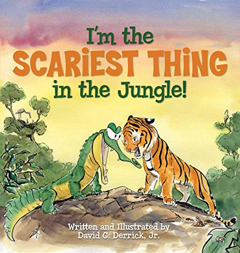 I'm the Scariest Thing in the Jungle! (English Edition)