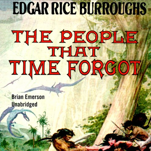 The People That Time Forgot audiobook cover art