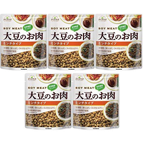 マルコメ ダイズラボ 大豆のお肉レトルト 【大豆ミート】 ミンチ 80g ×5個