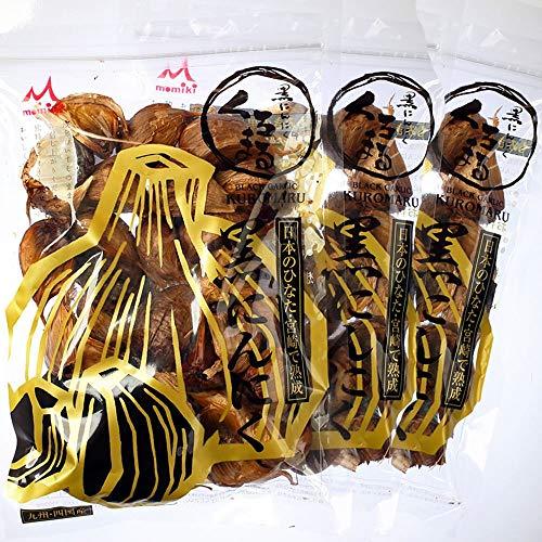 もみきの黒にんにく 宮崎県産黒にんにく「くろまる」 31片入3袋(約3ヶ月分)