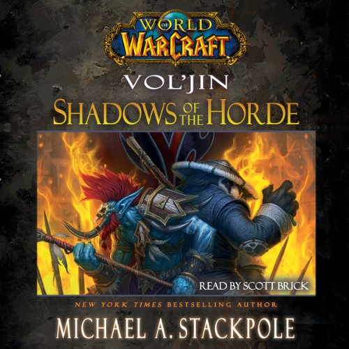 World of Warcraft: Vol'jin: Shadows of the Horde audiobook cover art