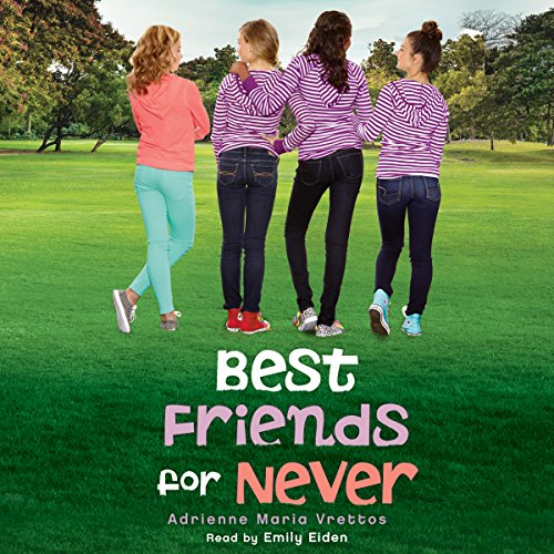 Best Friends for Never audiobook cover art