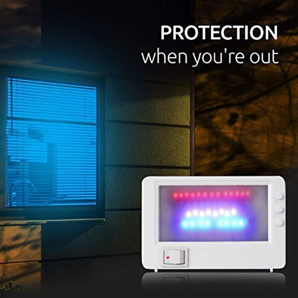Simulador de televisión LED M&H-24, falso televisor, protección ...