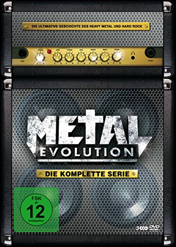 Preisvergleich Produktbild Metal Evolution - Die komplette Serie (3 Discs,  Steelbook