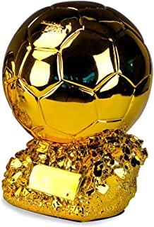 Coupe deurope 2020 Sports Troph/ée Drone Champion de la Coupe passion/é du Football Cadeau d/écorations /à th/ème r/ésine 32cm 44cm
