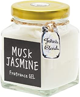 ノルコーポレーション John's Blend ルームフレグランス フレグランスジェル OA-JON-4-6 ムスクジャスミンの香り 135g