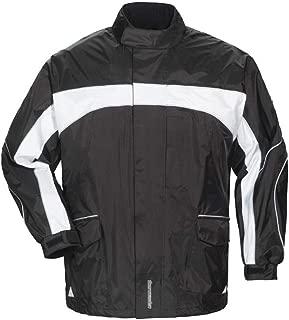 Tourmaster Elite 3 Rain Jacket (XX-Large) (Black/Black/White)