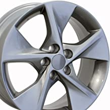 OE Wheels 18 Inch Fits Lexus ES GS HS IS LS RX SC Toyota Avalon Camry Matrix Rav4 Sienna Camry Style TY12 Gunmetal 18x7.5 Rim Hollander 69605