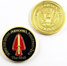 Art Crafter USASOC Headquarters U.S. Special Operations Command Airborne 1st Special Forces Command Challenge Coins Badge A043J