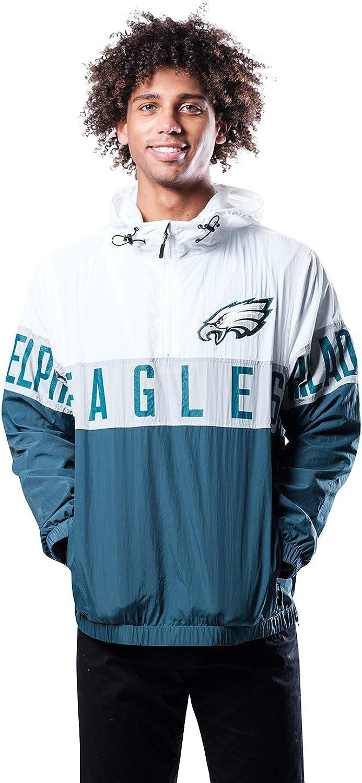 Ultra 特売 Game NFL Men's Quarter いつでも送料無料 Hoodie Zip Jacket Windbreaker