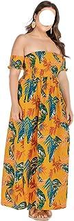 Women'S Mid-Length Dress Summer Beach Dress Dress