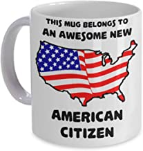 Best New American Citizen Coffee Mug - US Citizenship Gifts for New Americans Review